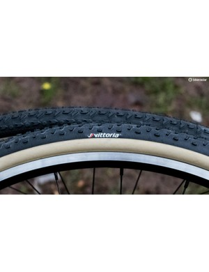 Both tyres come with lovely tan sidewalls. Bet they won't look that clean for long…