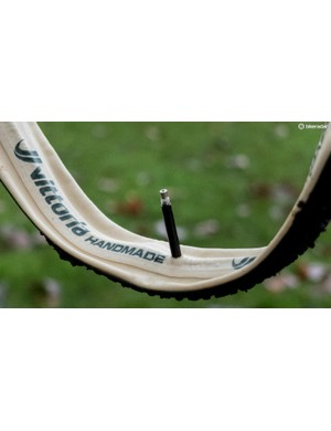 These tubular tyres are handmade