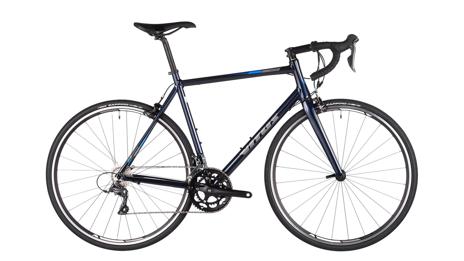 The Vitus Razor is an entry-level road bike, but doesn't disappoint