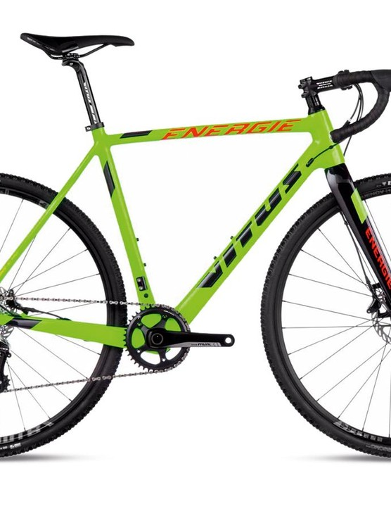 Vitus' Energie Pro may not appeal to shy and retiring riders