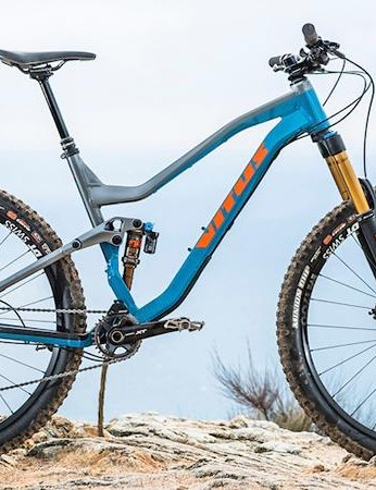Despite 140mm of rear-wheel travel, the Escarpe was one of the best all-out descenders on test