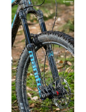 Don't expect miracles from the Manitou Minute Comp fork, but it's a decent little unit