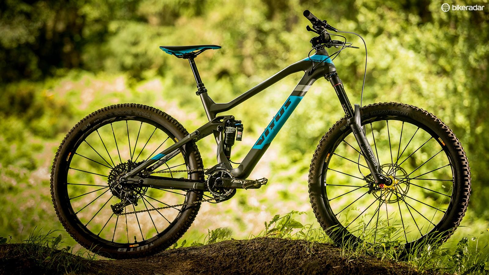More of a long-travel trail bike thana super-aggro enduro shredder, theSommet is a great package