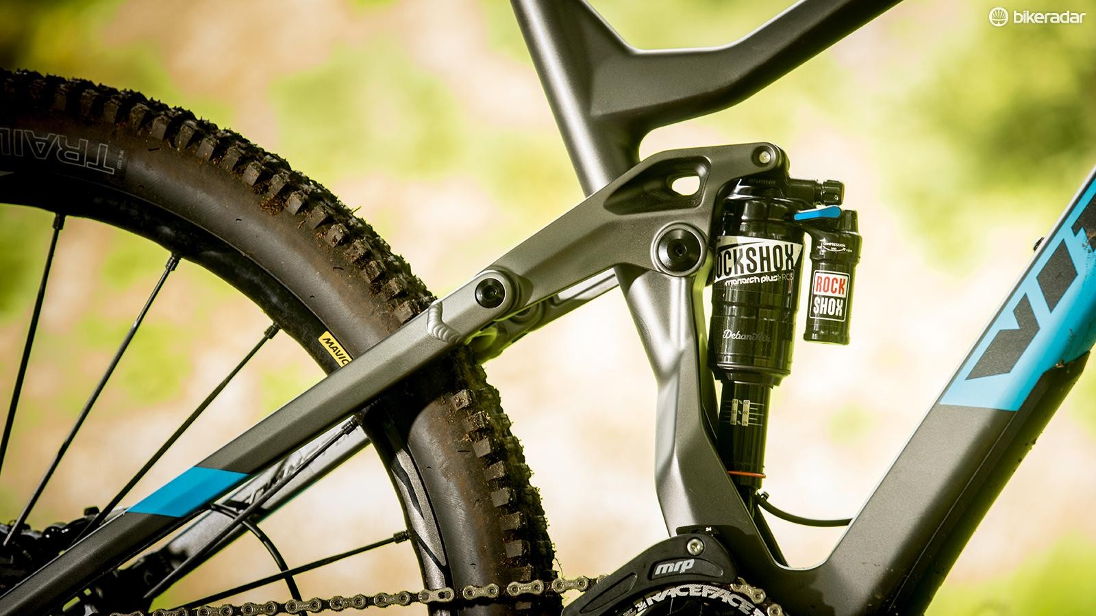 5a0fed1a869 The highly adjustable Monarch Plus shock makes it easy to get a good  suspension feel