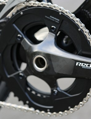 A closer look at the SRAM Red crankset