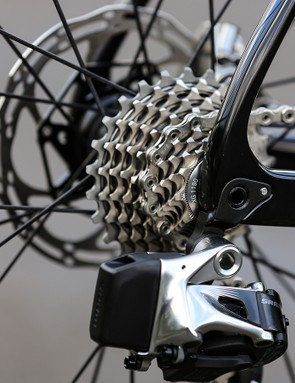The team will use SRAM XG1190 cassettes