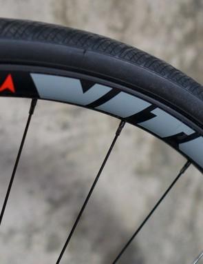The Zenium CR and CRW roll on Vitus own-brand aluminium aero wheels