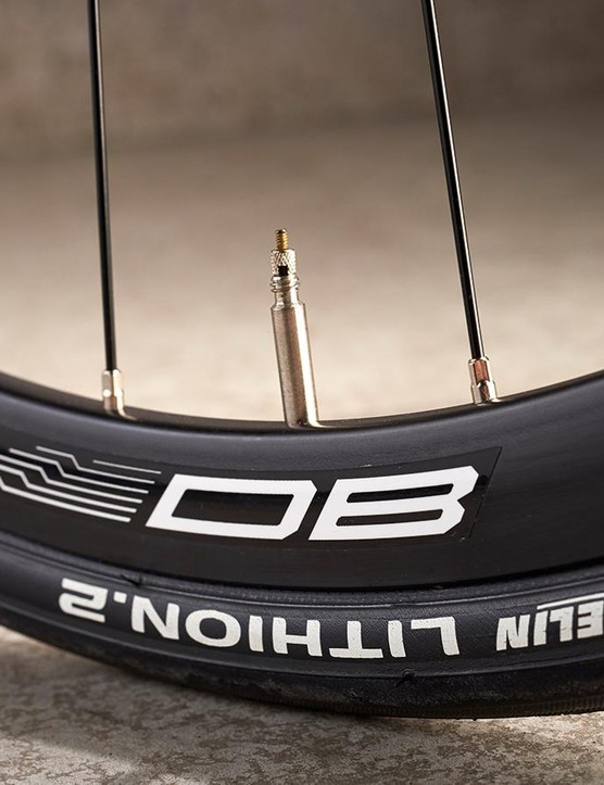 It's good to see a step up to Fulcrum DB rims at this price