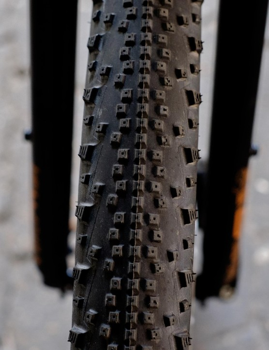 Schwalbe's Thunder Burt tyres should excel in off-road hardpack conditions without being too draggy for tarmac mileage
