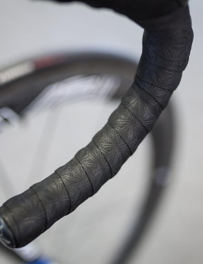 This cloth bar tape appears to be Supacaz, but according to the brand's website they don't make cloth tape