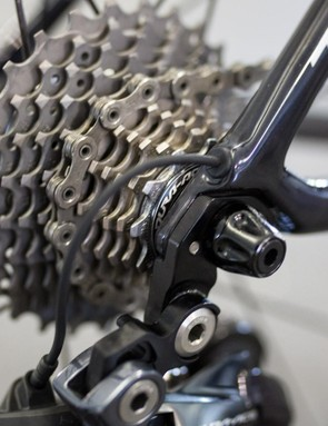 Last year just about all the teams were riding Ultegra cassettes, this year the majority are using Dura-Ace