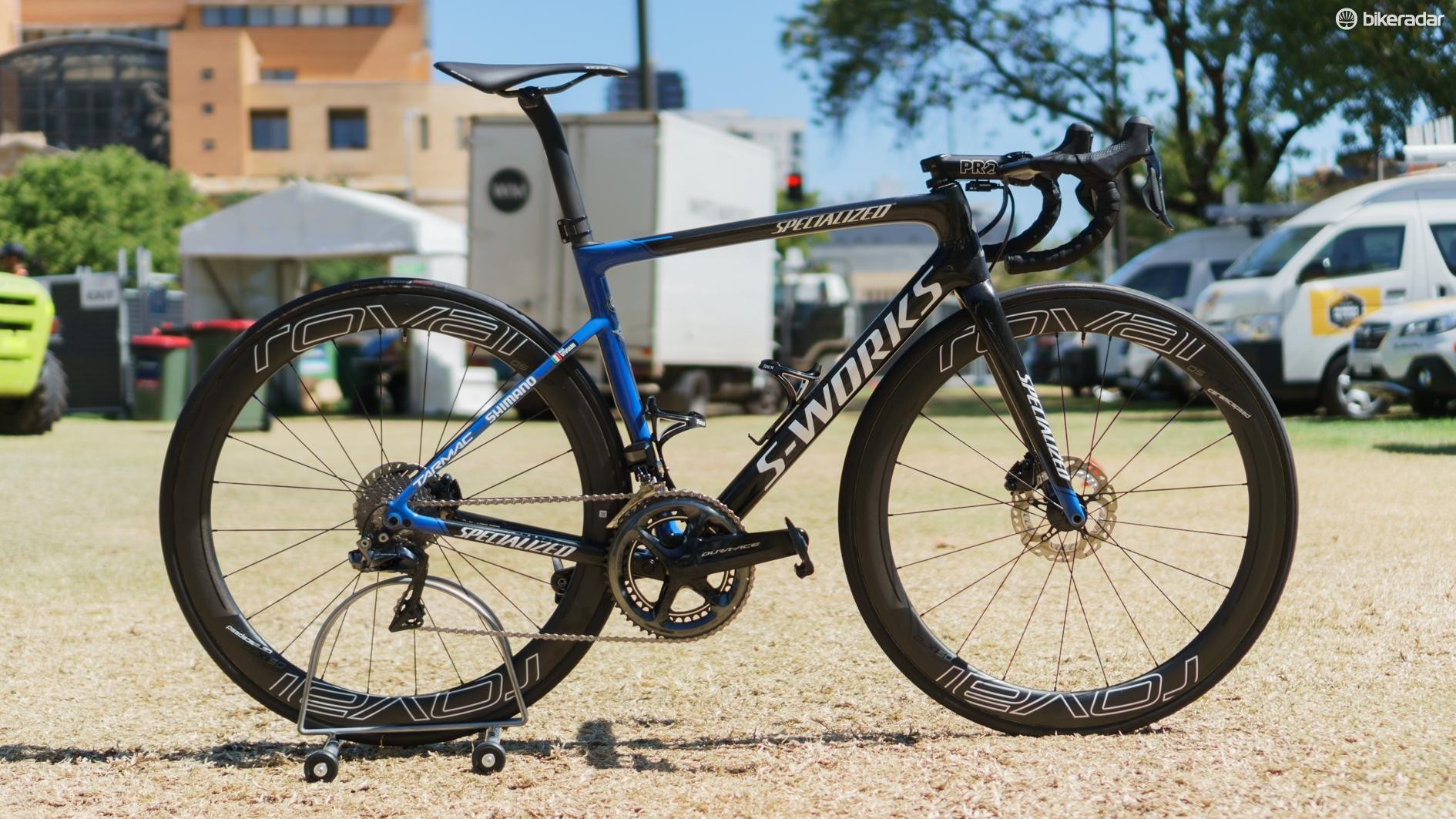 Viviani will also ride an S-Works Tarmac Disc