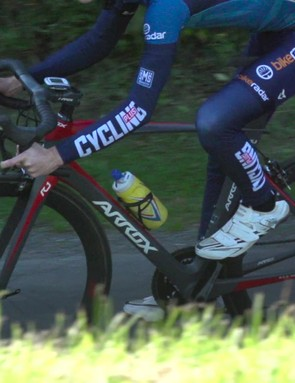 Grabby braking on the own-brand clinchers is a bit of a blast from the past