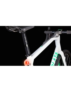 Why attach lights to a bike when you can just build them into it, Volata asks?