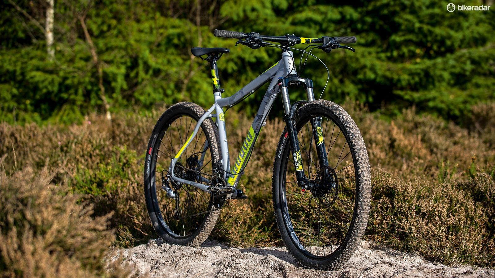 Kenda's Slant Six tyres are fast and grippier than they look, but slippery when it gets damp