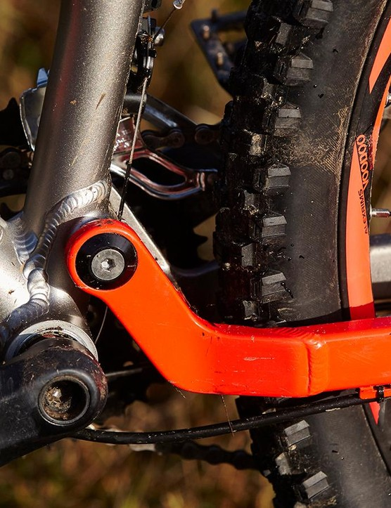 The cranks are a little flexy if you stomp down hard