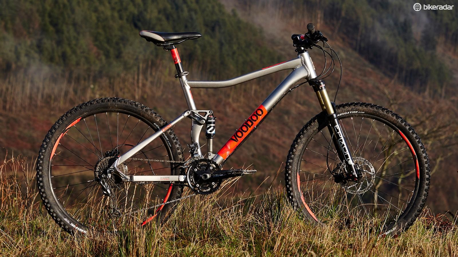 VooDoo's Canzo is a lot of bike for not a whole lot of cash