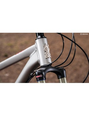 The bike is fitted with good quality parts for the price