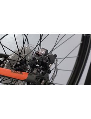 Tektro Lyra mechanical disc brakes take care of stopping