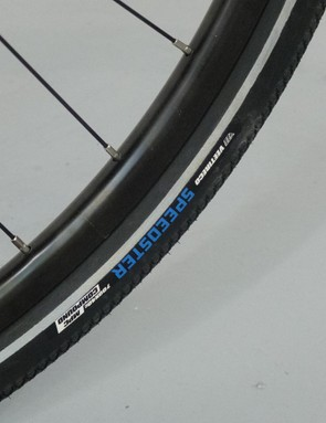 The 40mm tyres should make for a comfortable ride