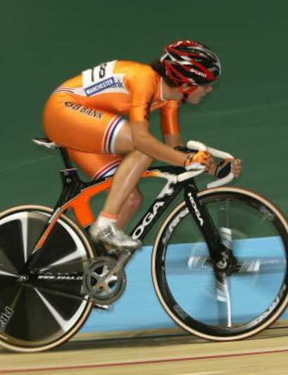 Vos has already proven she's more than capable of track gold