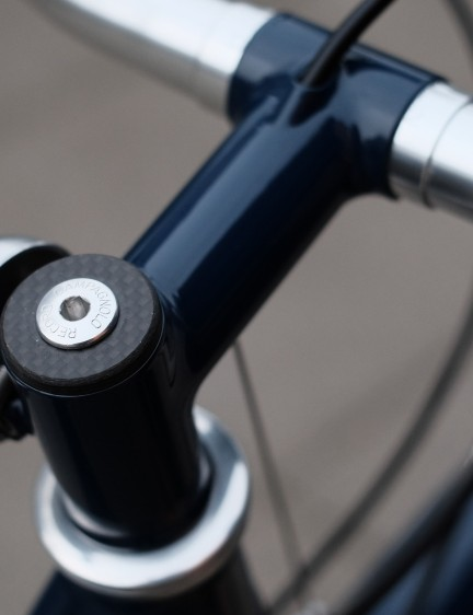 The Handsome Mixted features an extremely rare Campagnolo Record headset