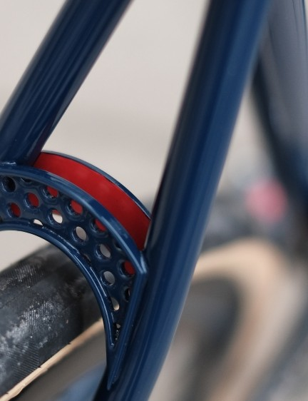 The Beyond Urban comes in the navy and red colours of the Made in Britain Vulpine range