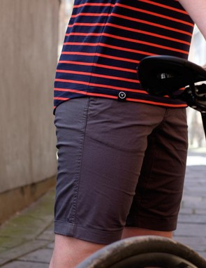 The men's casual Summer shorts come in Sea Grey (pictured), Stone or Ultramarine blue