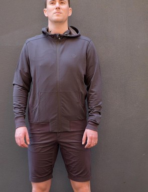 The men's Merino Sunset hoodie – casual styling but with the performance properties of merino wool