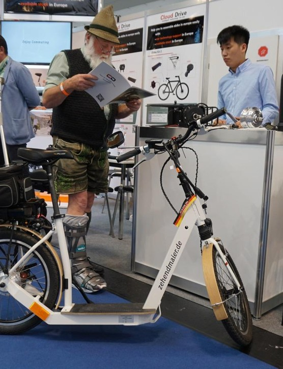 Eurobike is in Germany. Can you tell?
