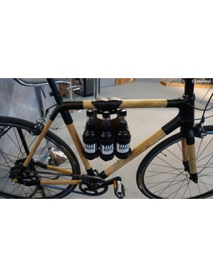 Bamboo reduces vibration-induced soda fizz-up by 23.4% (we're joking - we just take picures of things like this for fun)