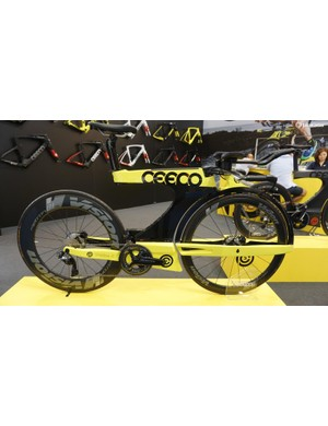 Ceeco completely rethought the triathlon bike