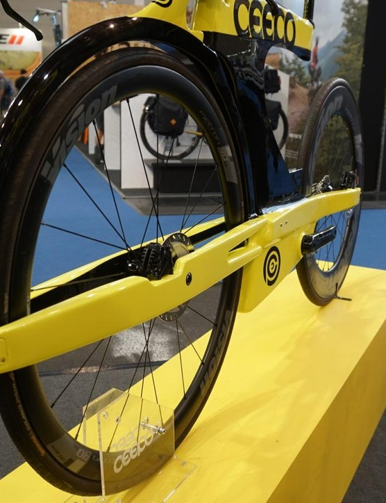 We'd be curious to see this bike in a wind tunnel