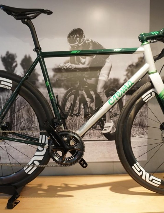 ENVE had a number of pretty bikes on its stand