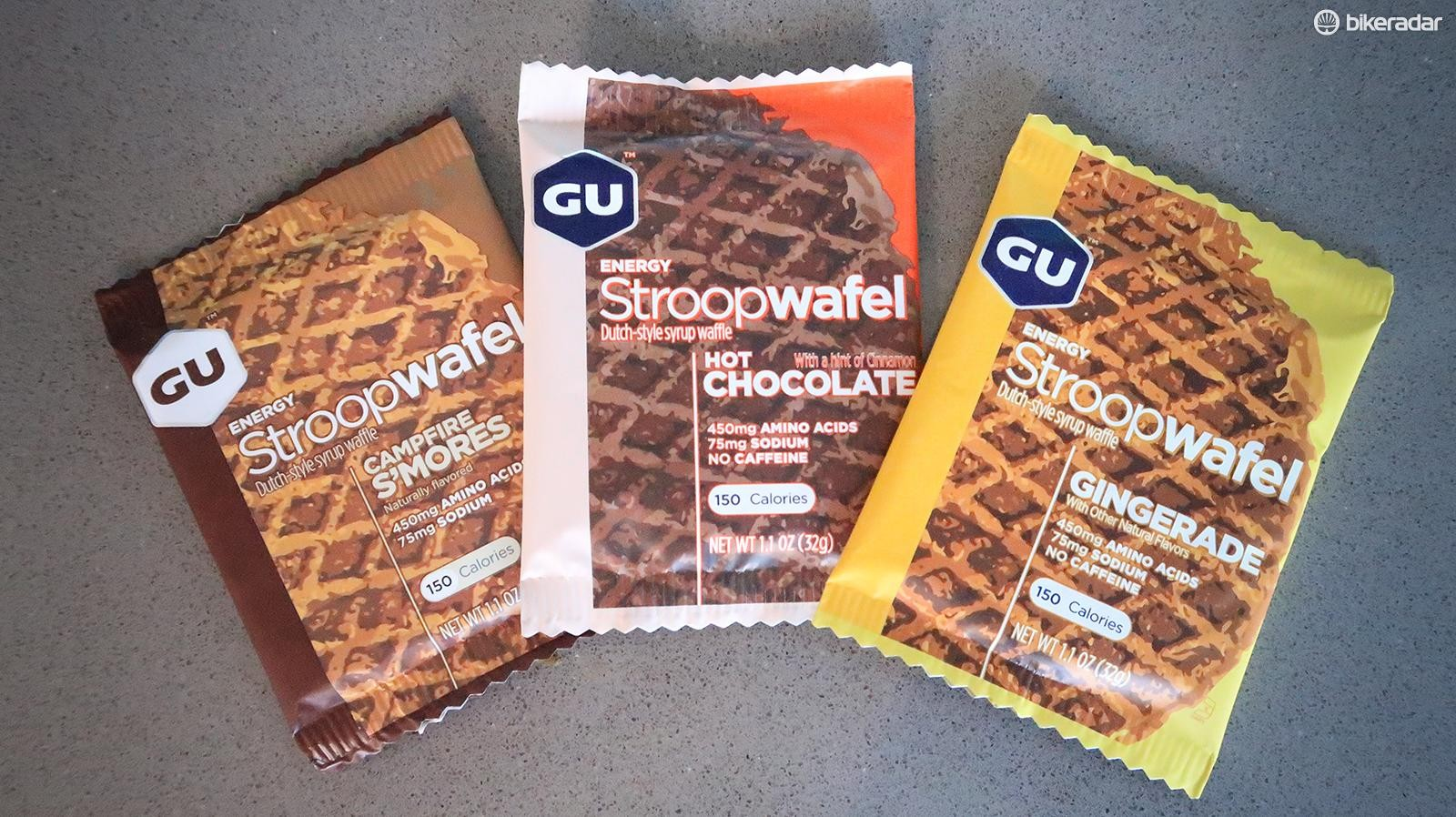 New and tasty Stroopwafels from GU