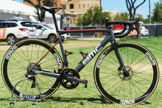 Michael Valgren's 2019 BMC Teammachine SLR01 Disc for Team Dimension Data