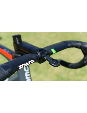 Flashes of green were also used on Dimension Data's ENVE components from last season