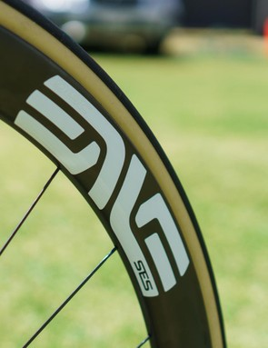 ENVE SES wheels with Vittoria Corsa 25mm tubular tyres
