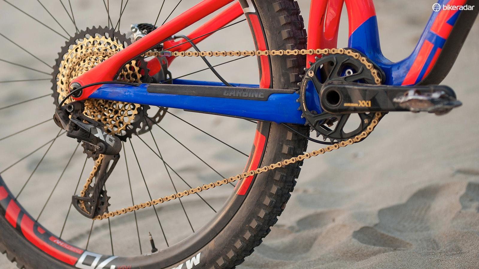 Want to scramble up the steepest hills? SRAM's XX1 Eagle will see you right