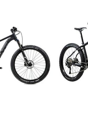 The Voytek frame is a 27.5+ or 29+ trail bike and a fat bike too
