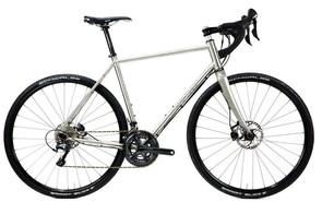 The Warakin is Osto's stainless steel drop bar bike