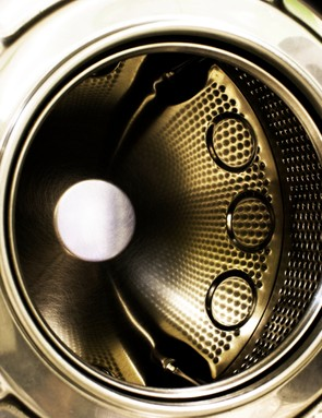 It's not a bad idea to give your washing machine an empty run to clean out detergent residue