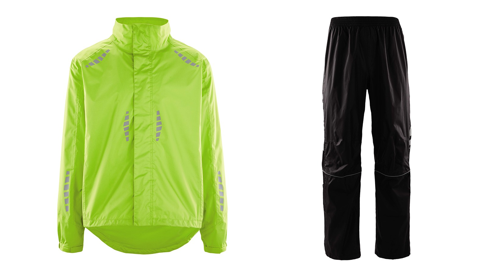 Get a £19.99 waterproof jacket or £14.99 overtrousers for the worst of the weather