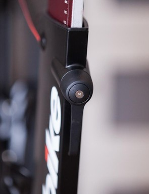 Smart locking levers make for quick and easy adjustments