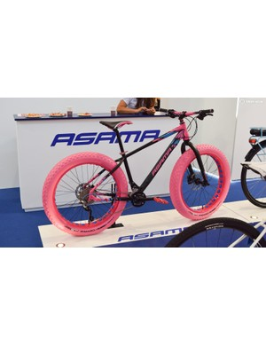 We looked at this Asama fat bike and now we're all blind