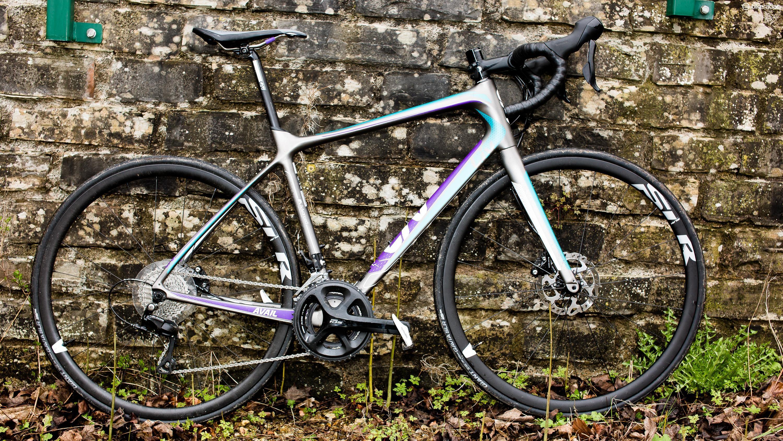 LIV Giant Contact SL Forward Womens Bike Saddle Grey Bike Seat Black