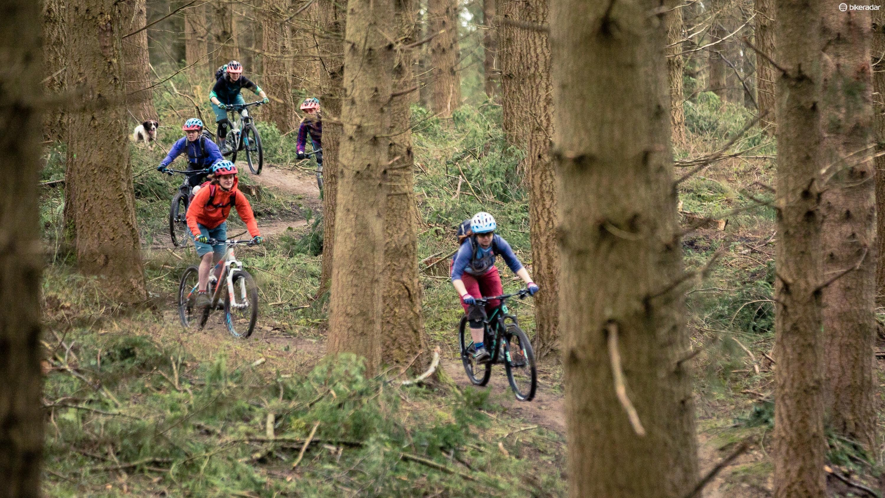 Our buyer's guide to women's mountain bikes will help you find the right bike for you