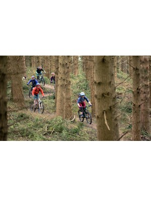 Five readers joined our BikeRadar women's cycling editor for a test weekend in the Forest of Dean in March
