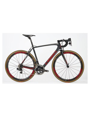 Specialized and SRAM are auctioning five of these machines for World Bicycle Relief