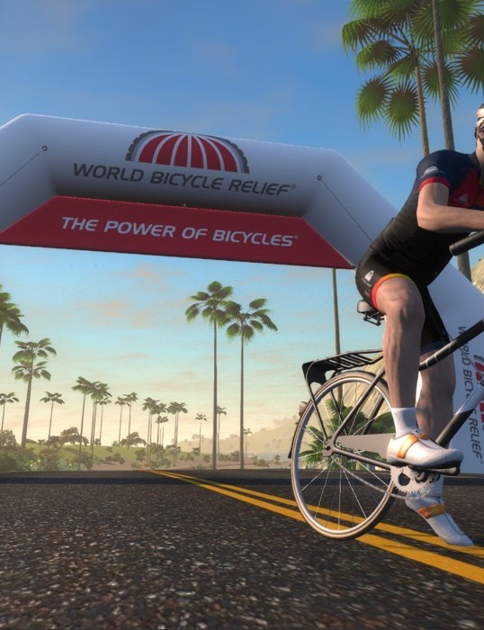 Ride your trainer and raise money for World Bicycle Relief on December 3rd